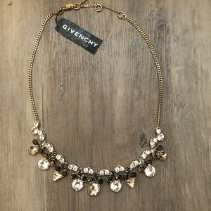 New with tags Givenchy necklace - Black/gold
